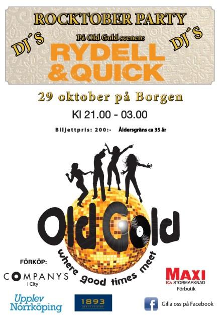 Old Gold – Rocktober