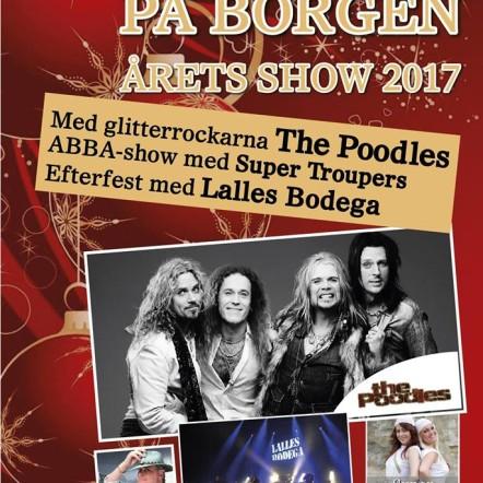 Julshow-Julbord-Fest På Borgen från den 24/11-15/12 2017