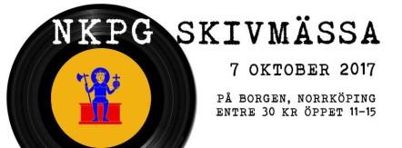 NKPG Skivmässa 7/10 2017