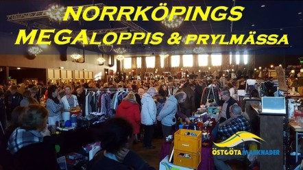 Norrköpings MegaLoppis och Prylmässa 28 oktober