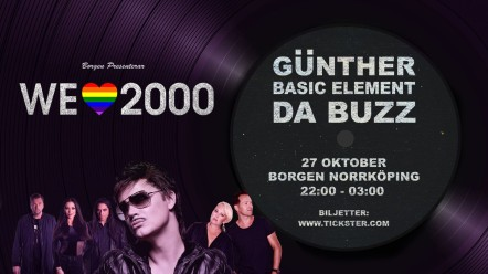 We Love 2000 – Günther, Basic Element & Da Buzz