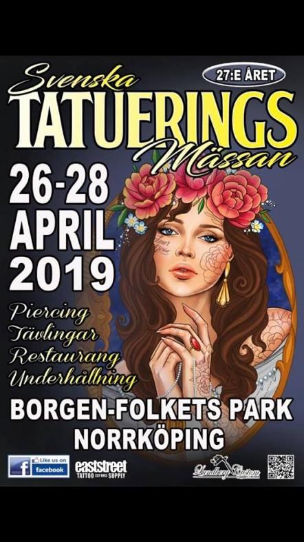 Svenska tatueringsmässan på Borgen