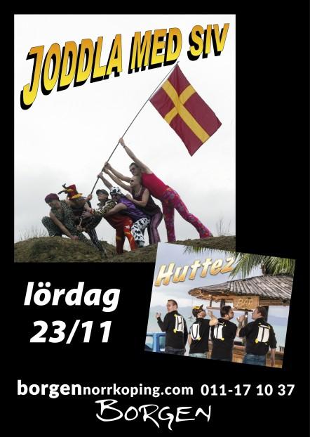 Joddla med Siv och Huttez på Borgen 23/11
