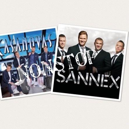 Non stop med Casanovas och Sannex på Borgen 21 mars 2020