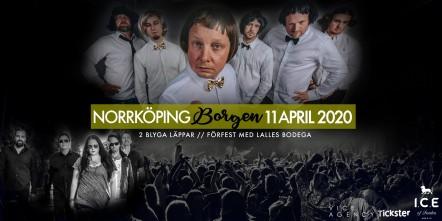 2 Blyga Läppar & Lalles Bodega 26 september