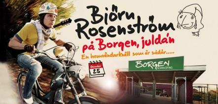 Björn Rosenström på Borgen juldagen