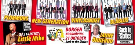 Back to the 60`s, Borgen 21 oktober